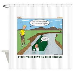 High Ground Shower Curtain