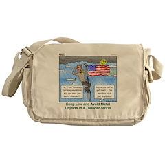 Thunderstorm Messenger Bag