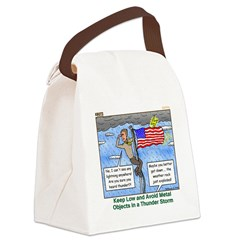 Thunderstorm Canvas Lunch Bag