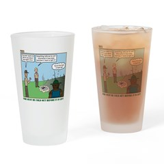 Fire Safety Drinking Glass