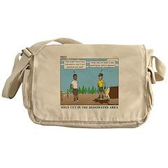 Axe Safety Messenger Bag