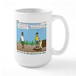 Axe Safety Large Mug