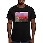Reverent Men's Fitted T-Shirt (dark)