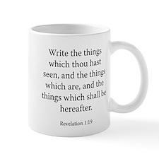 Revelation 1:19 Mug