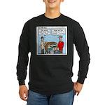 Clean Long Sleeve Dark T-Shirt