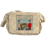 Clean Messenger Bag