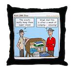 Clean Throw Pillow