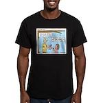 Brave Men's Fitted T-Shirt (dark)