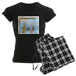 Brave Women's Dark Pajamas