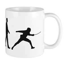 evolution fencing Mug