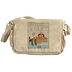 Thrifty Messenger Bag