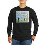 Cheerful Long Sleeve Dark T-Shirt