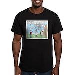 Cheerful Men's Fitted T-Shirt (dark)