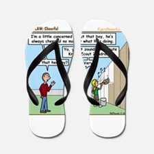Cheerful Flip Flops
