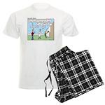 Cheerful Men's Light Pajamas