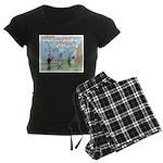 Cheerful Women's Dark Pajamas