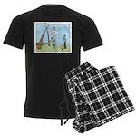 Obedient Men's Dark Pajamas