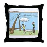 Obedient Throw Pillow