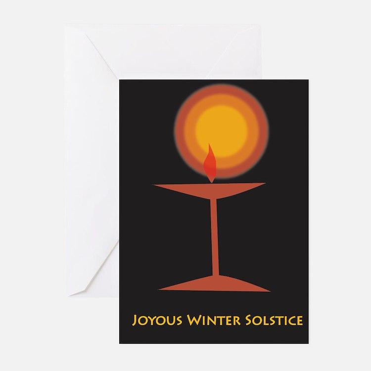 UU Winter Solstice Greeting Cards (Pk of 10)