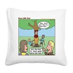 Kind Square Canvas Pillow