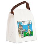 Courteous Canvas Lunch Bag