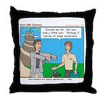 Courteous Throw Pillow
