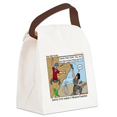 Friendly Canvas Lunch Bag