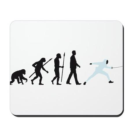 evolution fencing Mousepad