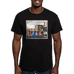 Helpful Men's Fitted T-Shirt (dark)