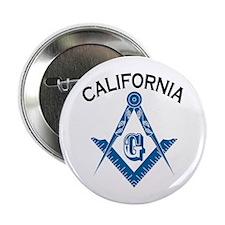 "California Freemason 2.25"" Button (10 pack)"
