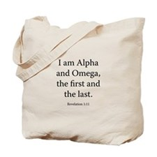 Revelation 1:11 Tote Bag