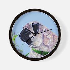 Beautiful Pug Art Wall Clock