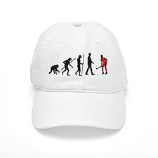 evolution fieldhockey player Baseball Cap