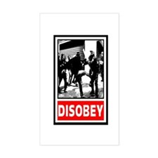 Disobey! Decal