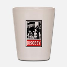 Disobey! Shot Glass