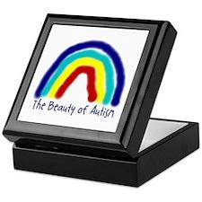 The Beauty of Autism Keepsake Box