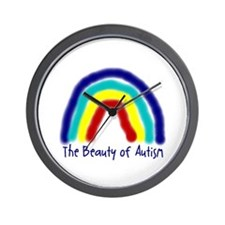 The Beauty of Autism Wall Clock