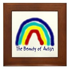 The Beauty of Autism Framed Tile