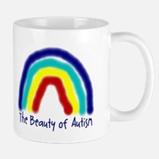 The Beauty of Autism Small Mugs