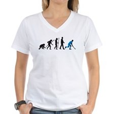 evolution fieldhockey player Shirt
