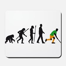 evolution fieldhockey player Mousepad