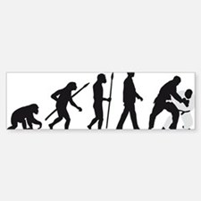evolution judo martial arts Bumper Bumper Sticker