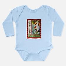 Ringing the Christmas Bell Long Sleeve Infant Body