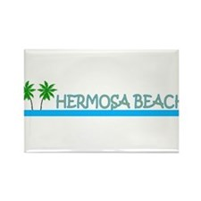 Cute Beverly hills california Rectangle Magnet