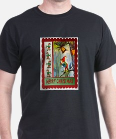 Ringing the Christmas Bell T-Shirt