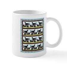 Bernese Mountain dogs In the grass Mug