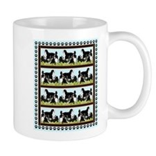 bernese mountin dogs iin the grass Mug