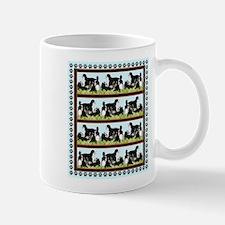 bernese mountin dogs iin the grass Mug