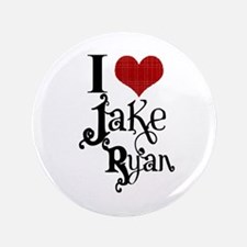 "I love Jake Ryan 3.5"" Button"