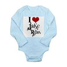 I love Jake Ryan Long Sleeve Infant Bodysuit